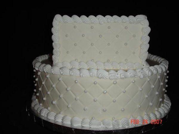 Tmx 1200929171253 DiamonImpressionwithPearls%28Small%29 Harrisonville wedding cake