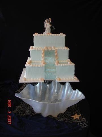 Tmx 1200929189191 WaterfallCake Harrisonville wedding cake