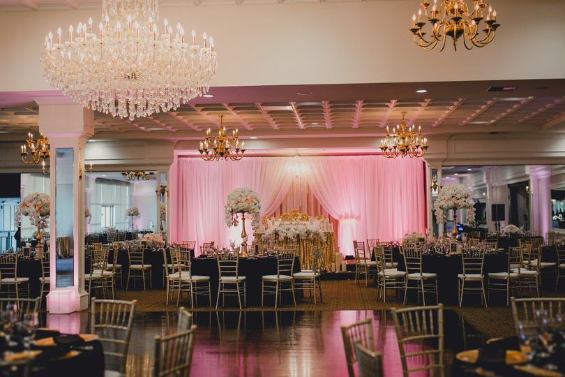 The Gold Room ballroom at Arden Hills.