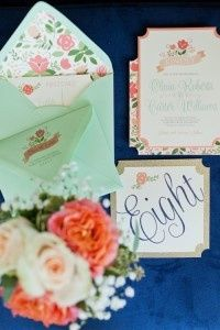 andi mans photography eclectic navy and mint wedd