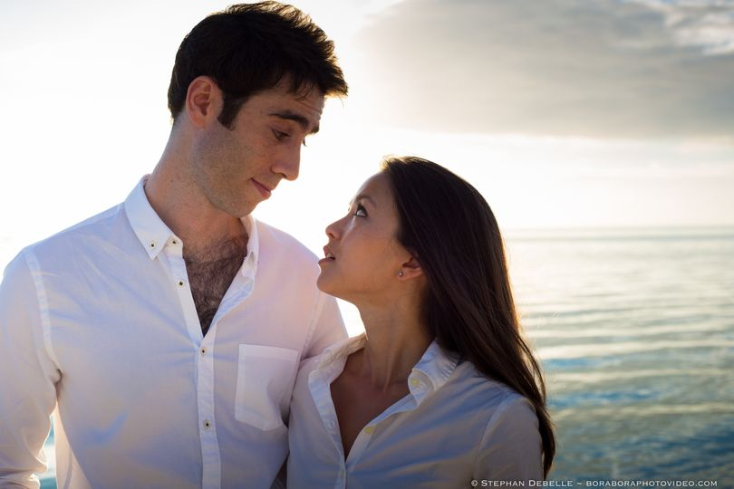 Romantic destination wedding in Bora Bora - French Polynesia