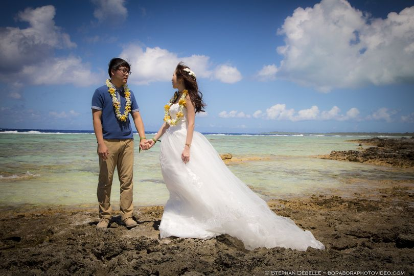 Wedding in the South Pacific - Bora Bora