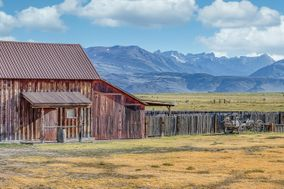 Bridgeport Ranch - Barns and Terrace