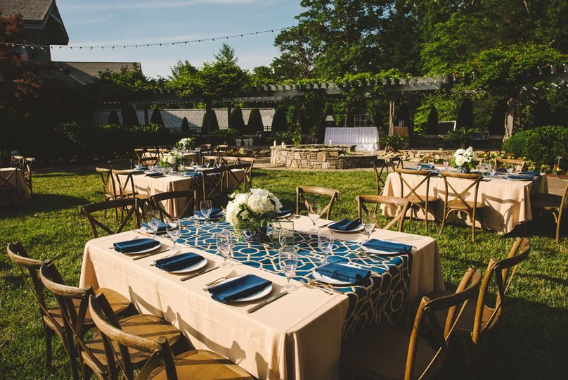 Table setup outdoors  | Photo by Fete Photography