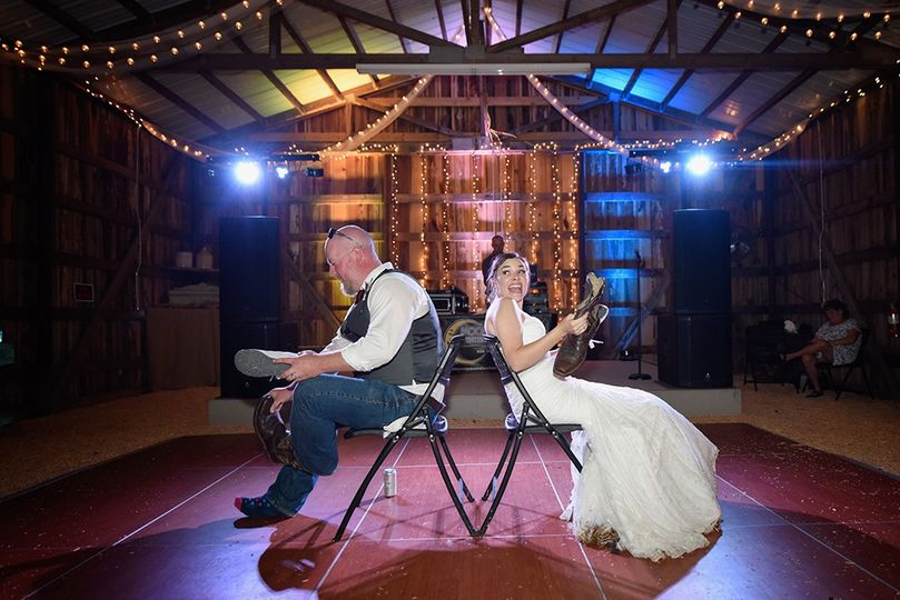 Couple on the dance floor  | Photo by Sarah Whitmeyer Photography