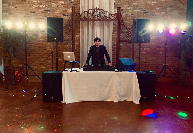 Party Lights with Full Setup