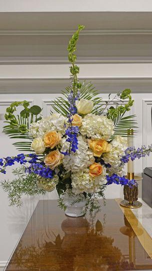 Large altar floral design