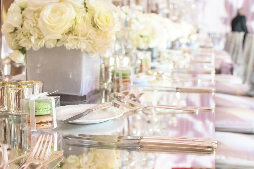 Favor boxes for every guest