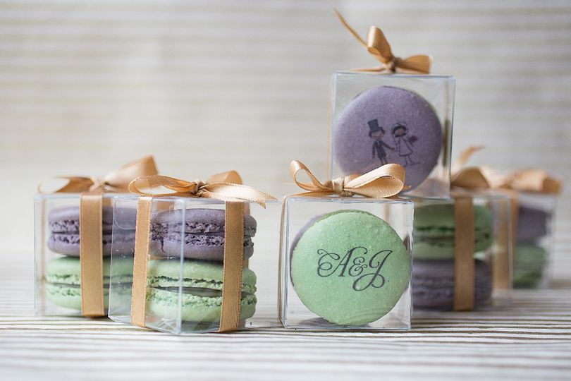 Macarons can be made to match any color scheme
