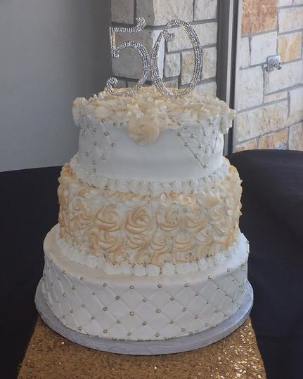 Elegant cake design