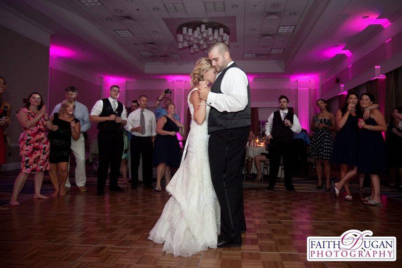 Leslie & Jason's Wedding Reception.  Newport Hyatt, Newport RI.  Music by B-Sharp Entertainment DJ...