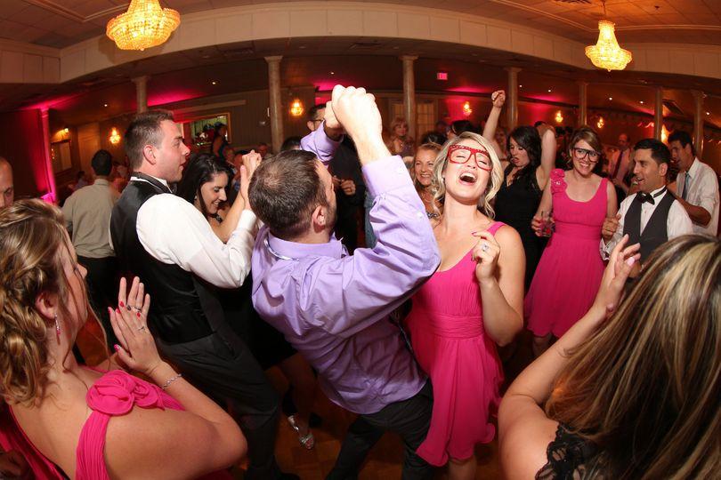 A lively dancefloor