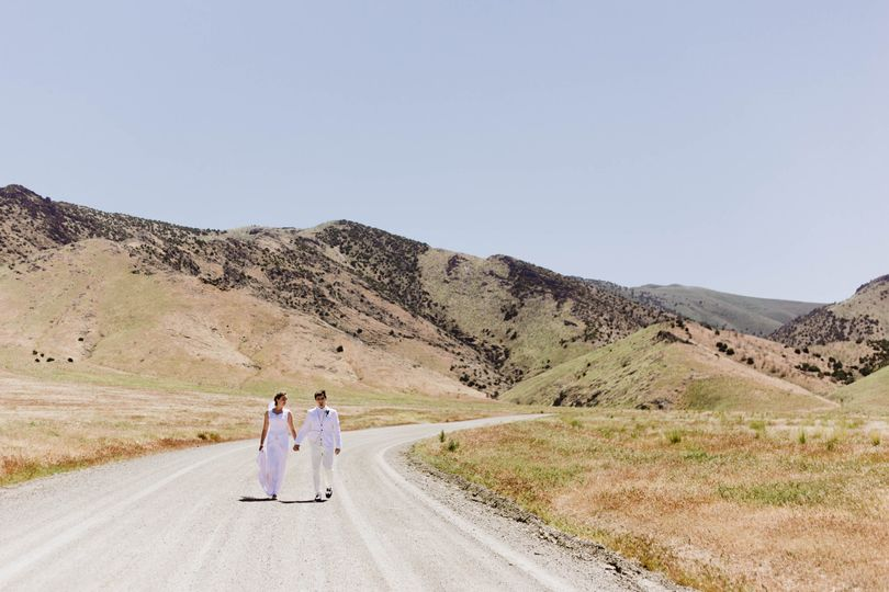 Nevada wedding portraits