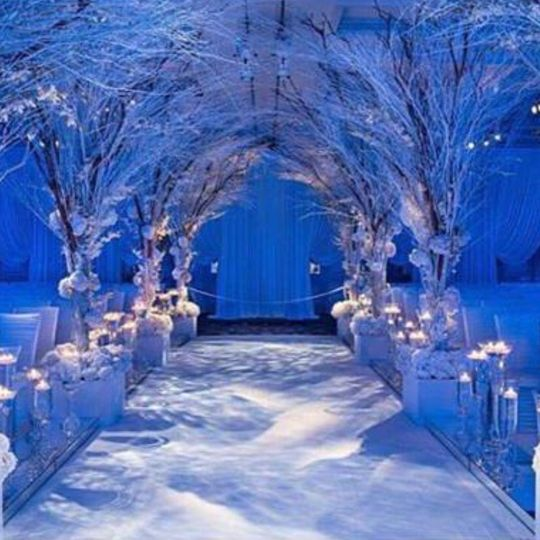 Winter Wonderland Ceremony