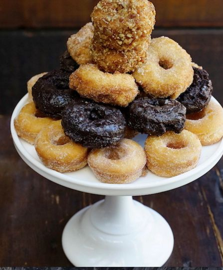 Mini donuts and donut holes!
