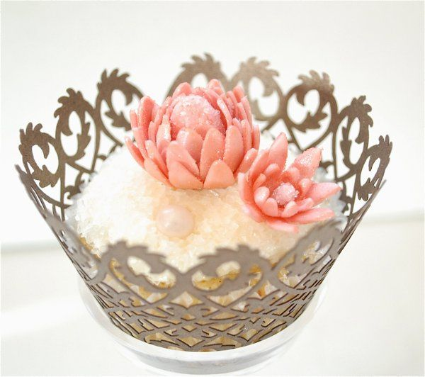 Lotus cupcake  from enlightened patisserie