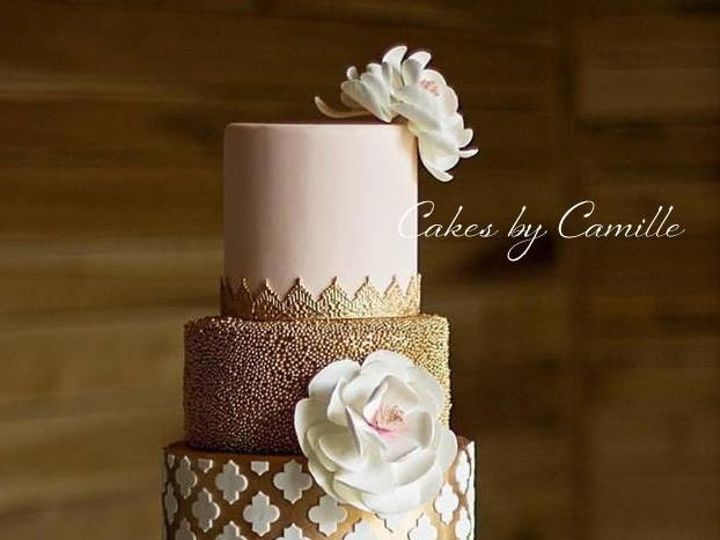 Tmx 1484085200404 Payton Campbellsville, Kentucky wedding cake