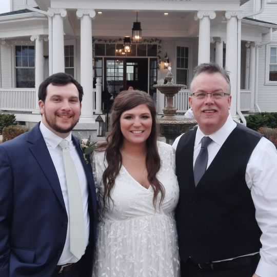 DJ and the happy couple