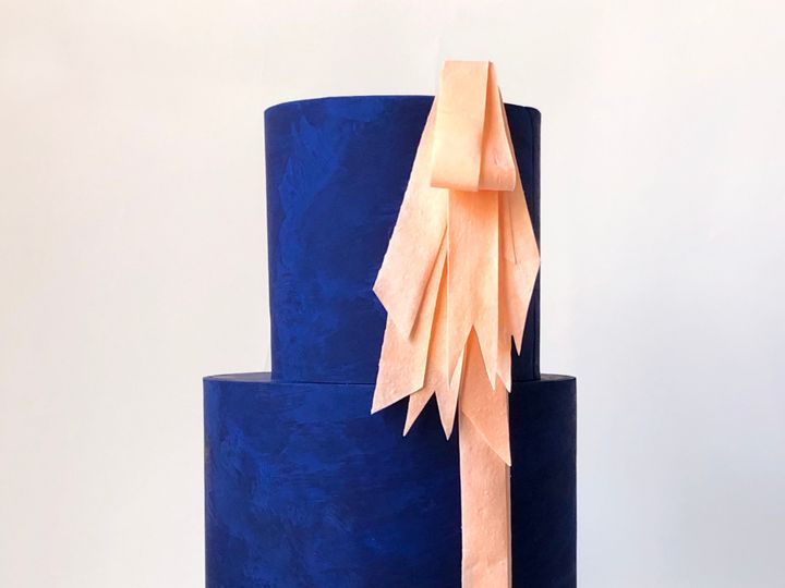 Tmx Blue With Ribbon 51 1875027 158750207757666 Brooklyn, NY wedding cake