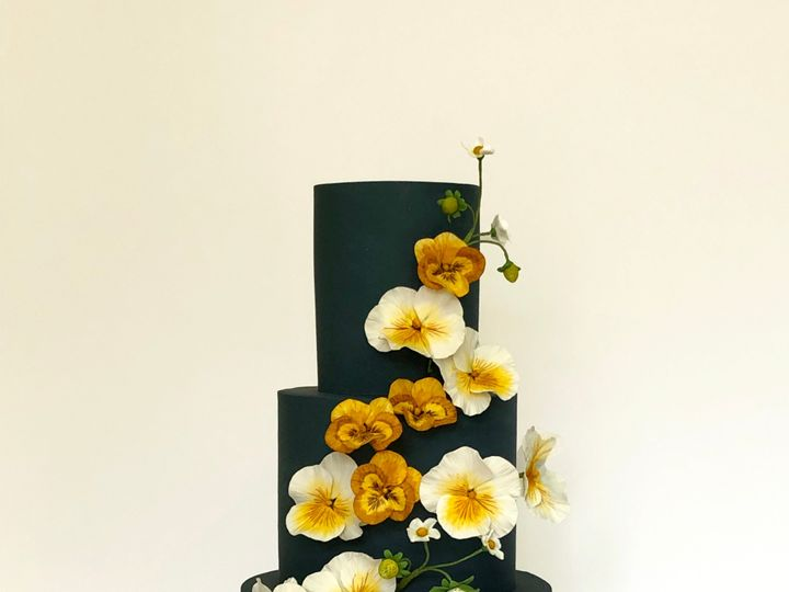 Tmx Pansies8 Copy 51 1875027 158750208657957 Brooklyn, NY wedding cake