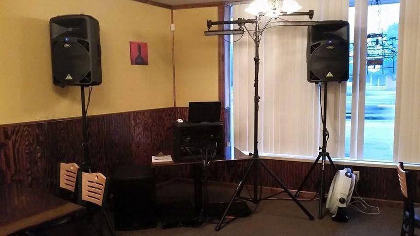 Reception setup