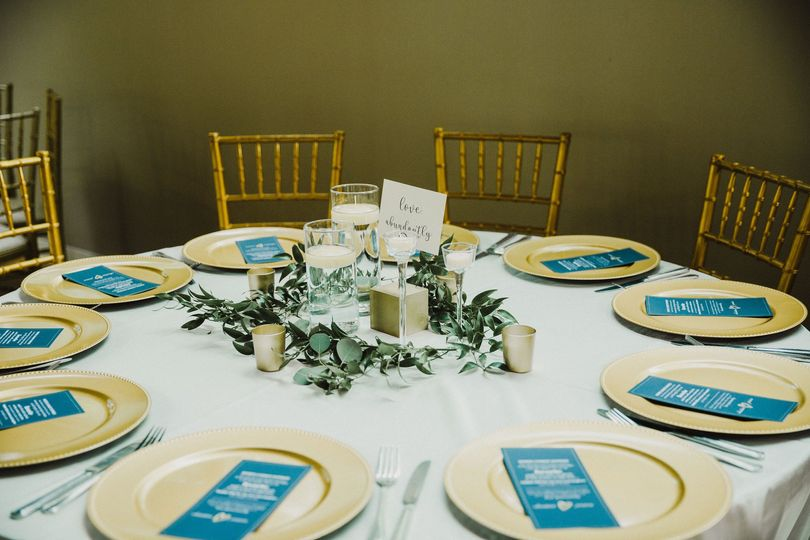 Table set up