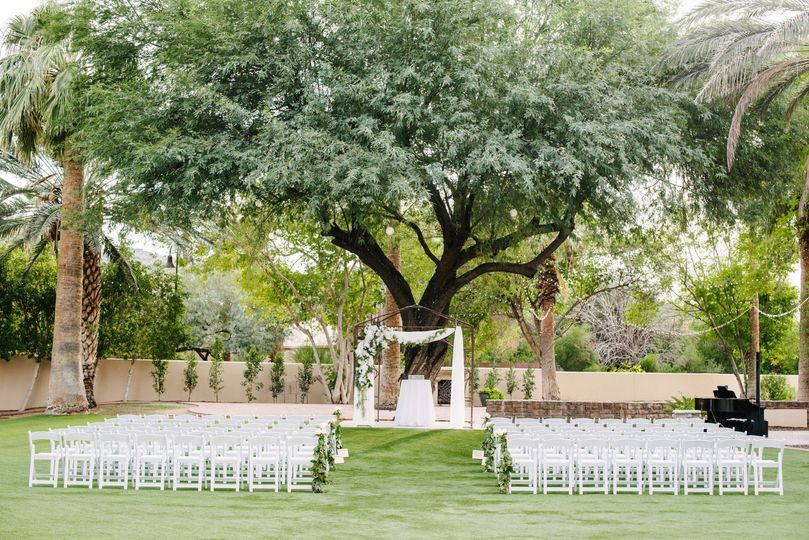 Outdoor ceremony sight