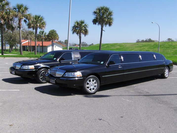 Long black limo