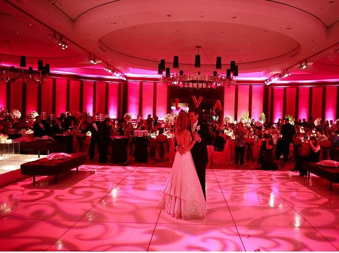 Tmx Red Uplighting Textured Lighting Wedding Reception First Dance Maryand 51 1008027 Philadelphia, PA wedding dj