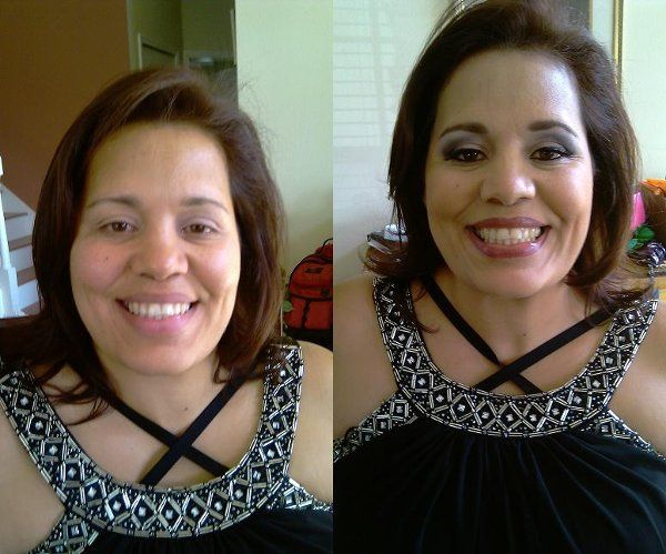 Before and After.. Makeup By Bella
