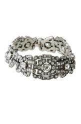 Vintage deco bracelet will add syle and sparke on your special day