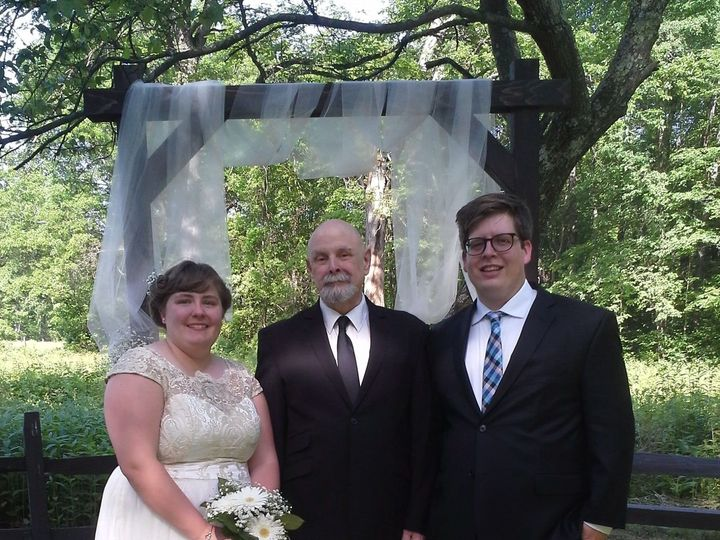 Tmx 1531717745 791c06fa24dfd7f6 1511892934314 Kate And Jarred Smith Carnegie wedding officiant