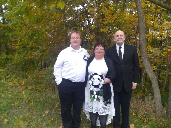 Tmx Denni And Damien With Henry 51 411127 161349699384945 Carnegie, PA wedding officiant
