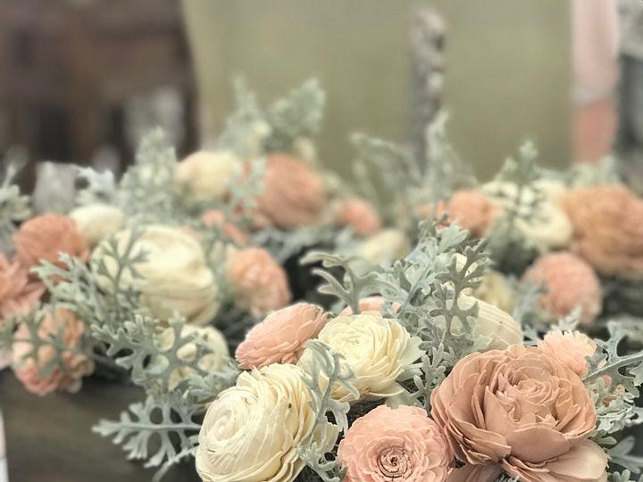Tmx Centerpiece Wooden Flowers 51 591127 157549924396620 Ripon, WI wedding eventproduction