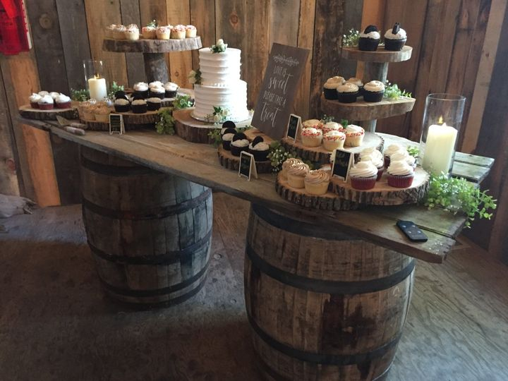Tmx Dessert Table Whiskey Barrels 51 591127 157549930425307 Ripon, WI wedding eventproduction