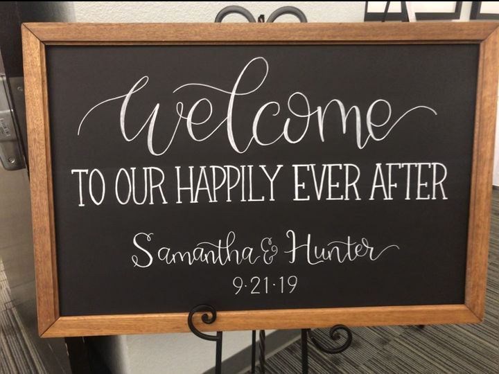 Tmx Sign Welcome To Our Happily Ever After 51 591127 157549948025208 Ripon, WI wedding eventproduction