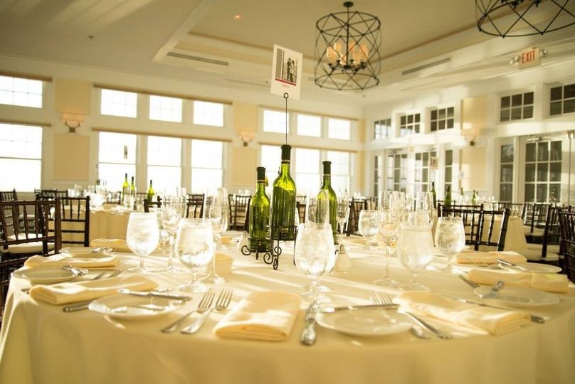 Lavish reception setting