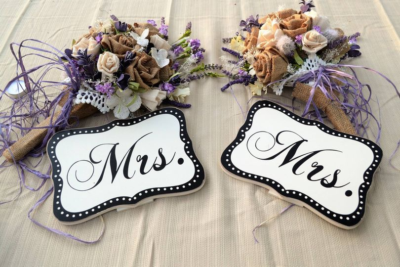 Mrs. and Mrs. at last