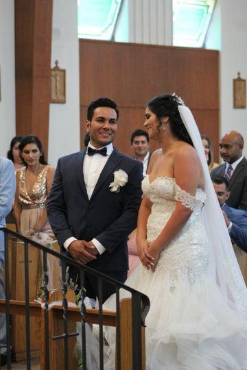 Trad. church wedding, Salem OR