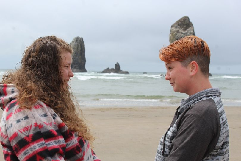 Re-commitment on Cannon Beach