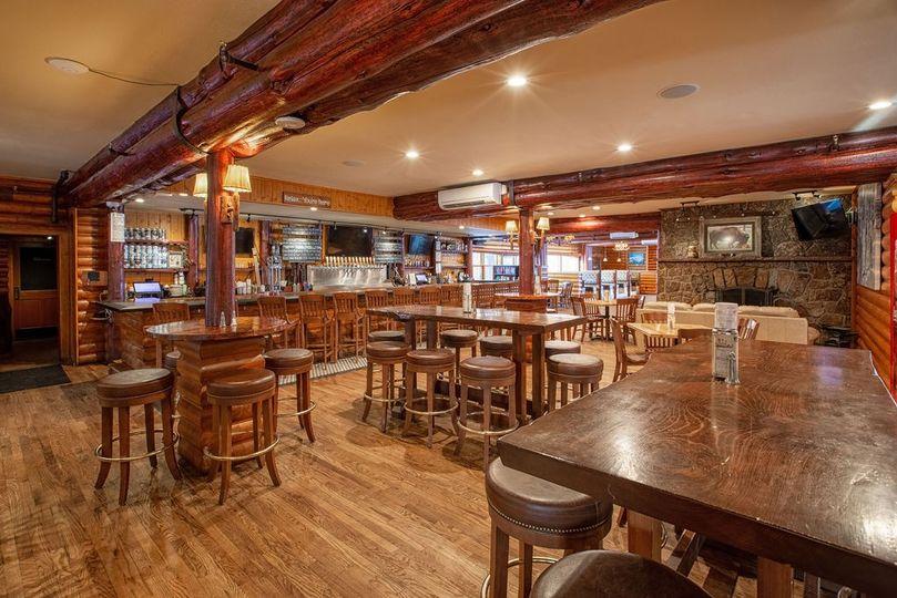 Main floor bar