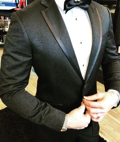 Black magic tuxedo
