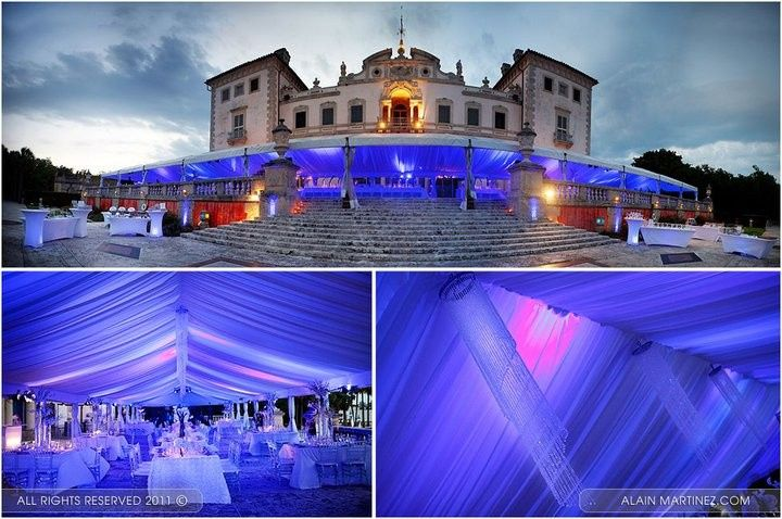 vizcaya custom draping