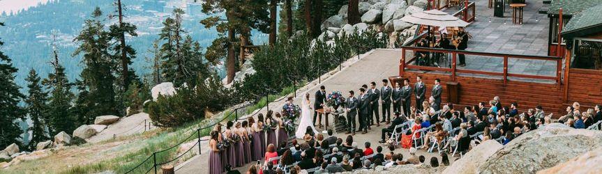 Gorgeous mountaintop ceremony