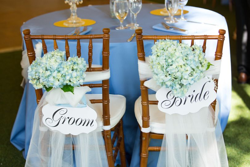 Blue Sweetheart's Table