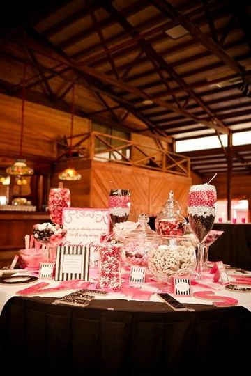 Wedding Sweets Table I styled.