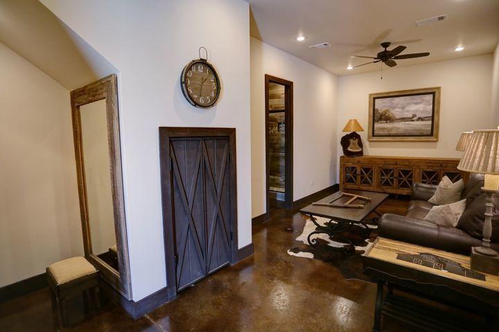 Wooden rooms