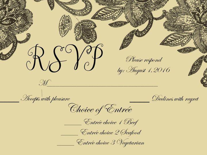 Tmx 1428157086014 Pixingo Wedding Rsvp Card Newark wedding invitation