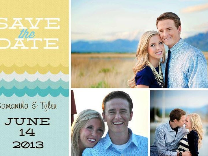 Tmx 1428157175750 Pixingo Wedding Save The Date Newark wedding invitation