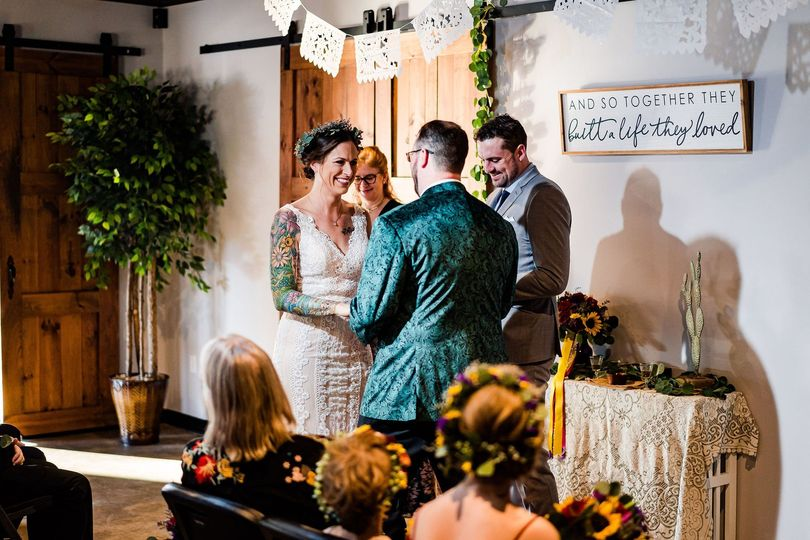 Ceremony in the Gathering Room